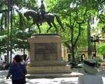 paría de la Plaza Bolívar